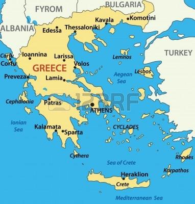 map-of-greece--vector-illustration